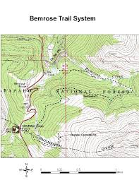 Colorado Trail Maps by Oric Colorado Summit County Region Winter Trails Index Page