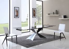 Best  Black Glass Dining Table Ideas On Pinterest Glass Top - Glass dining room table with extension