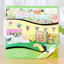 hunkydory crafts hunkydory craft stacks tropicanarama 404282 create and craft