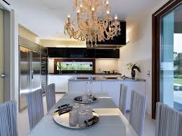 Italy Kitchen Design dining room and kitchen design at modern house of light maison de