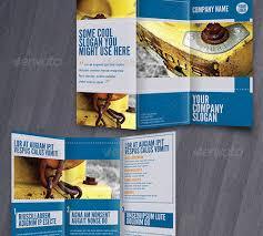 tri fold brochure template indesign free 45 creative premium brochure template designs 56pixels