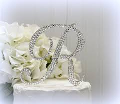 g cake topper 5 monogram letter wedding cake topper cake topper initial