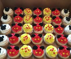 mickey mouse cupcakes mickey mouse birthday cupcakes white cake with vanilla
