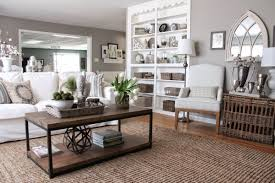 Feminine Living Room Using Taupe To Create A Stylish Family Friendly Living Room