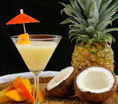 martini pineapple coconut mango tini recipe mango vodka malibu coconut and