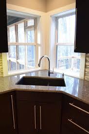 Kitchen Sink Size And Window by Kitchen Design Magnificent Small Corner Kitchen Sink Single