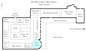 floor plan of the white house file white house west wing 1st floor with the oval office