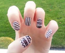 nail design with stripes images nail art designs