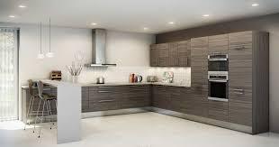 implantation cuisine en l implantation salle de bain 5 cuisine en l par hygena mineral bio