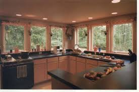 No Upper Kitchen Cabinets Kitchens With No Upper Cabinets Lots Of Light Kitchen