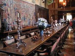 Hearst Castle Dining Room Interior Design Ideas - Castle dining room