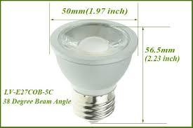 120v led bulbs lighting dimmable e27 e26 par16 led spot light bulbs 5w