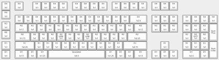 keyboard layout ansi max keyboard cherry mx mechanical keycap layout and size chart