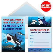shark birthday invitations shark birthday party supplies canada open a party