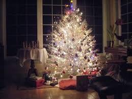 vintage aluminum christmas tree glamoursplash the vintage gleaming aluminum christmas tree tin