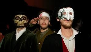 the halloween spirit guys as well as girls made an effort to get into the halloween