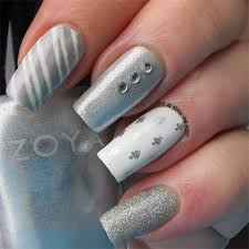 20 easy u0026 simple christmas nail art designs ideas u0026 stickers