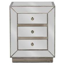 silver nightstands bedroom furniture the home depot