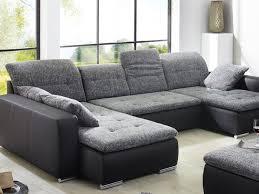 sofa anthrazit sofa ferun 365x200 185cm mit hocker anthrazit schwarz