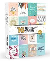 happy f cking birthday skull blank greeting card a5 size