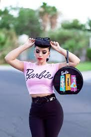 girls halloween tops retro barbie inspired pin up pinterest barbie retro and