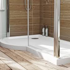 Bathroom Shower Trays by Orchard P Shaped Left Handed Shower Tray 1500 X 900 Victoriaplum Com