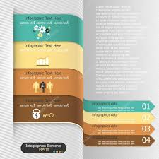 modern infographics options banner vector can be used for web