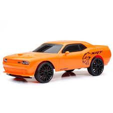 dodge challenger canada bright 1 12 rc chargers orange dodge challenger srt hellcat