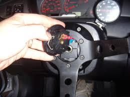 evo 8 9 aftermarker steering wheel install evolutionm