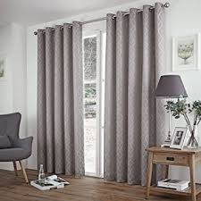Curtains 90 Inches Just Contempo Thermal Jacquard Eyelet Curtains 90 X 108 Inches