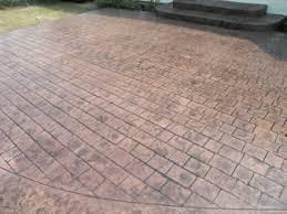 stamped concrete patio cobblestone stamped concrete patio u2026 flickr