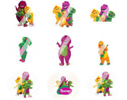 barney friends etsy