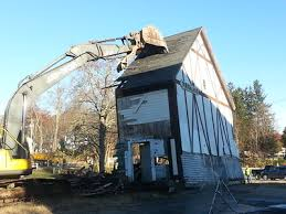 Barn Demolition Lowell Sun Photos