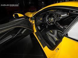F12 Berlinetta Interior Ferrari F12 Berlinetta Custom Interior Is A Feast For The Eyes