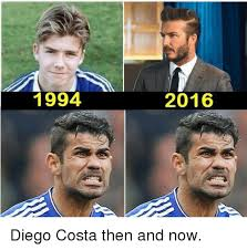 Diego Costa Meme - 1994 2016 diego costa then and now diego costa meme on sizzle