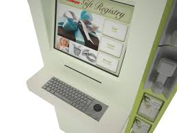 fred meyers gift registry custom retail kiosk fred meyer gift registry kiosk by olea