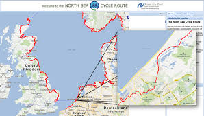 netherlands beaches map cycling along the beaches of the sea bicycle