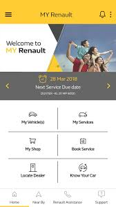 renault india launches my renault app with more than 60 features