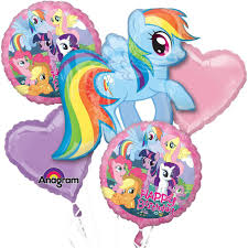 balloon delivery nc my pony balloon bouquet my pony party supplies
