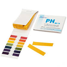 How To Make Litmus Paper At Home - litmus paper ph 1 to 14 test book 80 strips by trixes co
