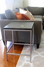 Cheap Side Table by Mid Mod Inspirations Cheap Side Table Transformation