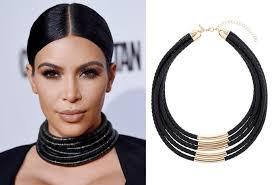 rope necklace choker images How to wear choker jewelry like kim kardashian jpg