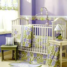 Lavender Decor Bedding Ideas Purple And Green Crib Bedding Set Purple And Green