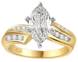 gold diamond engagement rings carat gratia diamond 14kt yellow gold engagement ring