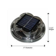 solar led dock lights bh usa taylorbrite solar led dock light bh usa
