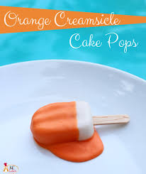 Halloween Themed Cake Pops by Orange Creamsicle Cake Pops Kc Bakes