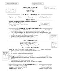 Kindergarten Teacher Resumes Elementary Teacher Resume Httpjobresumesample Com683 High