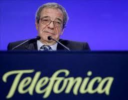 El presidente de Telefónica compra opciones sobre 10 millones de acciones