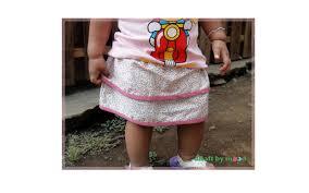 dasar membuat pola baju ebook download cara membuat rok anak skirt for baby girls craftbymood