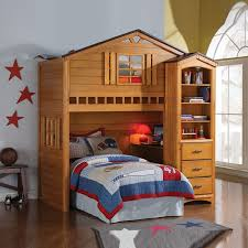 Wooden Loft Bed Diy by Diy Treehouse Twin Loft Bed Decorate Treehouse Twin Loft Bed For